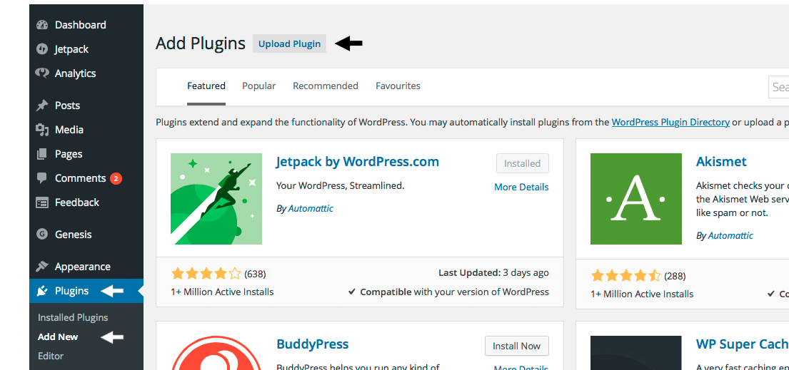 20 wordpress upload